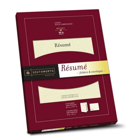 Folder For Resume by Resume Format Cv Presentation Folder