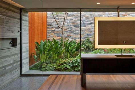 garden bathroom ideas bathroom garden ideas at v4 house by marcio kogan home