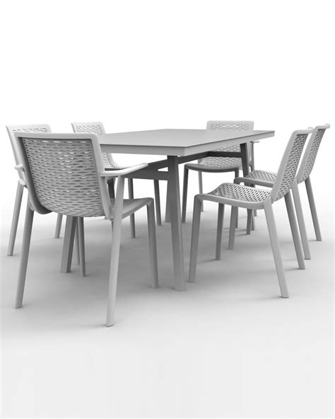 barcino indoor outdoor rectangular dining table