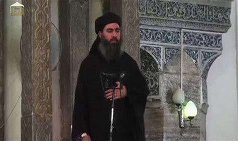 abu bakr al baghdadi isis chief abu bakr al baghdadi absconds us backed iraqi