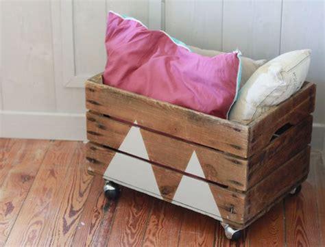 meuble a casier 3749 diy 5 recycler une vieille caisse en bois chambre d