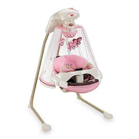 fisher price swing cradle n swing fisher price 174 butterfly cradle n swing buybuy baby