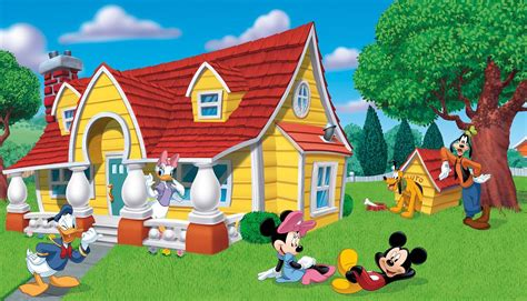 mickey mouse clubhouse wall mural mickey and minnie mouse wall murals realistic wall
