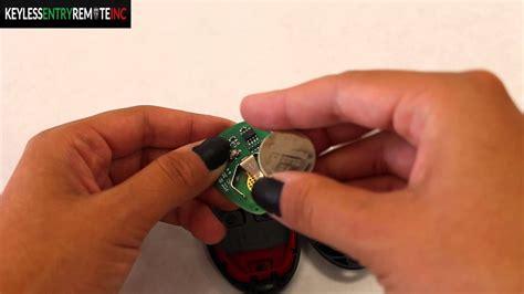 replace chevrolet hhr key fob battery