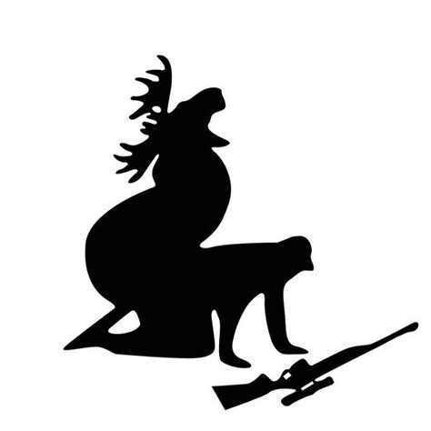 Auto Decals Hunting by Moose Hunting Funny Car Stickers Auto Truck Vehicle