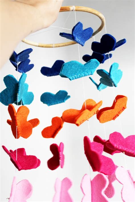 Handmade Mobiles For Nursery - 133 best images about baby mobile on bumble