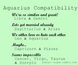 aquarius compatibility tumblr