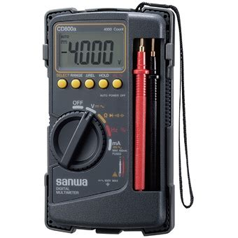 Multi Digital Sanwa sanwa digital multimeter cd800a multimeters cl
