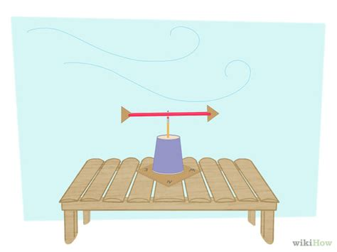 How To Make A Weathervane How To Make A Wind Vane With Pictures Wikihow