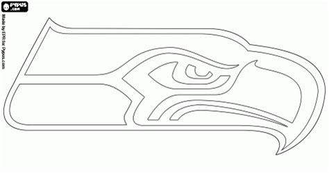 coloring pages football seahawks seattle seahawks logo print it seahawks