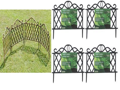 Garden Border Fence New 2 10 Plastic Garden Border Fence Edging Lattice