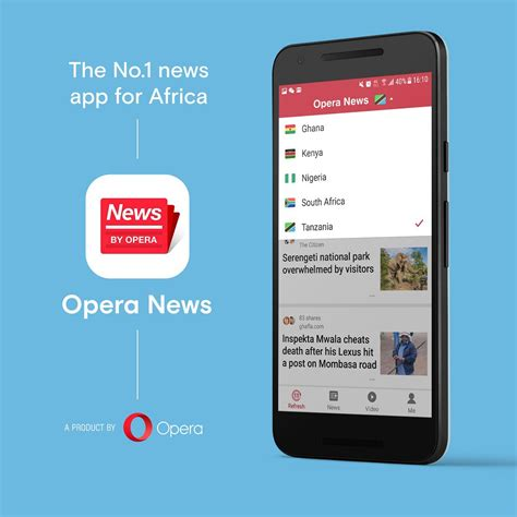 apps opera app android opera news app lets you read trending news popular and save data ogbongeblog