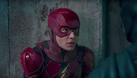 ezra miller the flash scene it s official the flash is the first big screen jewish