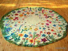 teppich filzen 220 ber 1 000 ideen zu filzblumen auf