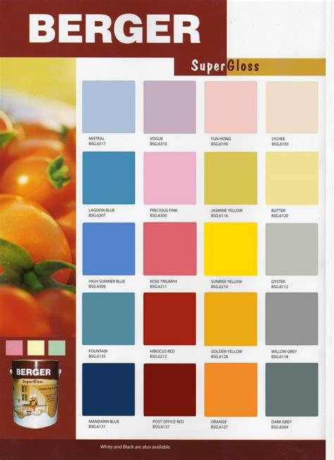 berger paints colour shades berger paints interior colour chart home painting