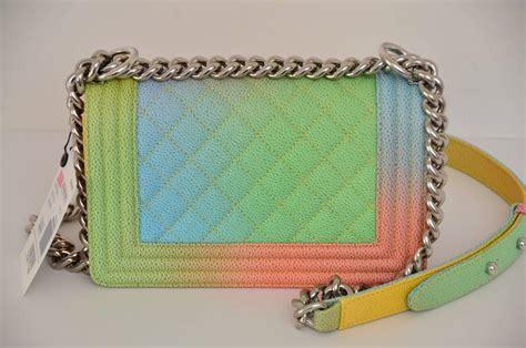 Clutch Python Multi Rainbow L Size chanel rainbow chanel boy handbag small 17 crossbody new