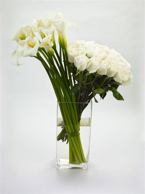 Tall Skinny Glass Vases 12 Best Images About Tall White Calla Lily Arrangements On