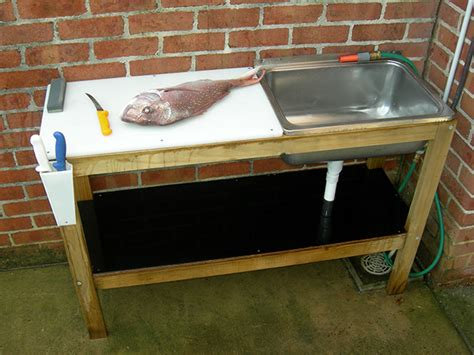fish cleaning table plans diy fillet table fishtrack