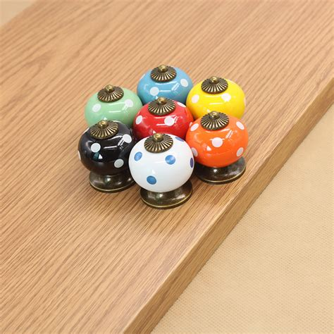 colorful kitchen cabinet knobs aliexpress com buy colorful antique furniture knobs