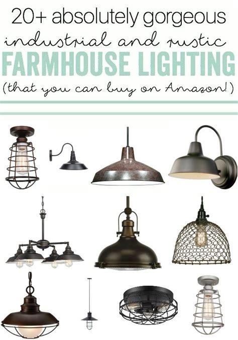 industrial farmhouse lighting indoor  outdoor options
