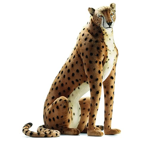 Leopard Chandelier Shades Chet The Sitting Cheetah By Hansa Life Size