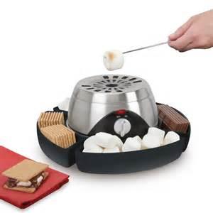Fun Kitchen Gadgets by The Indoor Flameless Marshmallow Roaster Hammacher Schlemmer