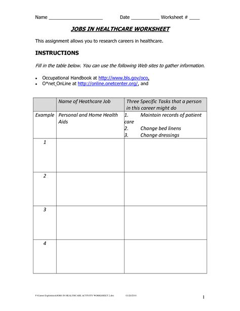 Career Worksheets For Middle School by 9 Best Images Of Career Research Worksheet Career Research Worksheet High School Career