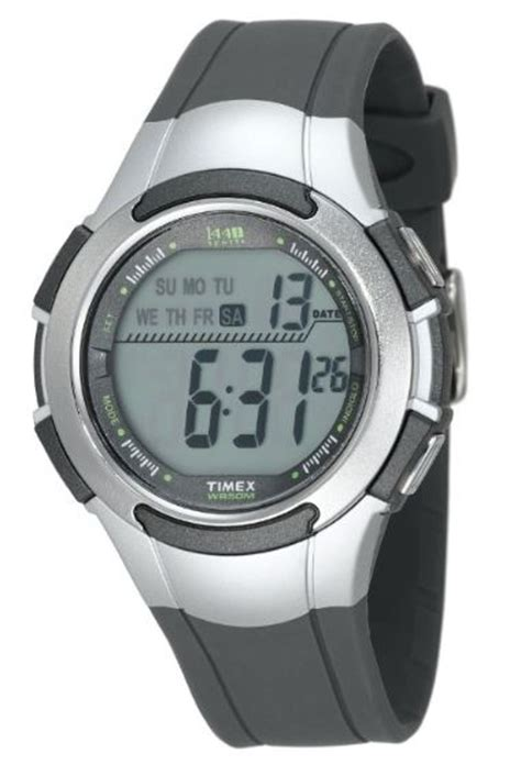 low price timex s t5k238 1440 sport gray and silver