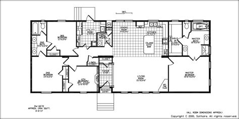 floorplans for wide manufactured homes solitaire