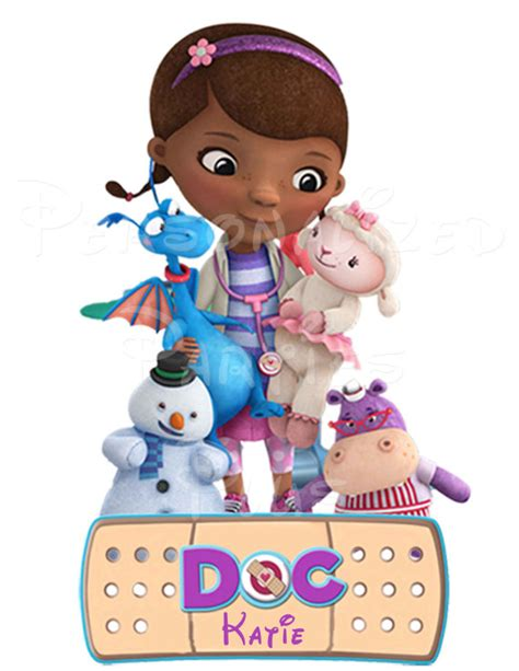 wall decal home decor doc mcstuffins wall