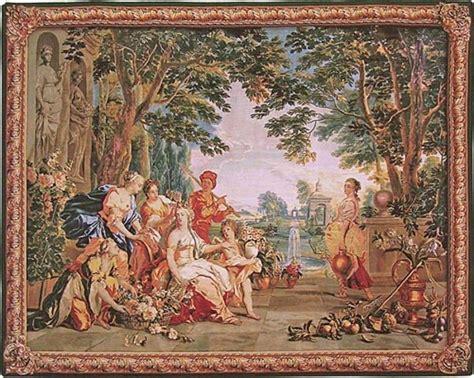 tapisserie synonyme le triomphe de flora tapisserie de notre collection jacquard