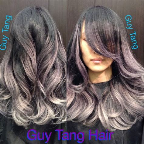 guy tang grey hair silver balayage beauty hair pinterest