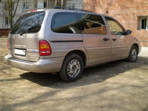 1995 ford windstar for sale 3800cc gasoline ff automatic for sale