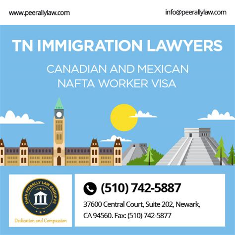 Tn Visa Management Consultant Mba by Tn Immigration Lawyers Canadian And Mexican Nafta Worker Visa