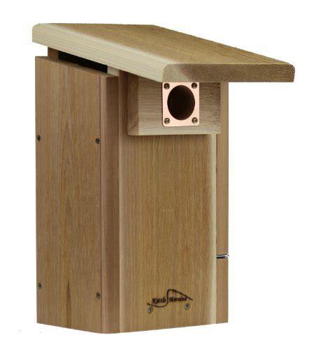 kettle moraine cedar super bluebird house with side