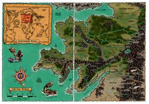 Warhammer World Map by The Old World Of Warhammer In Colour By Rapatuan On Deviantart