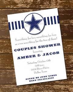 dallas cowboys invitation digital file