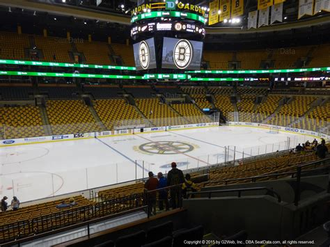how many seats in the td garden td garden section 115 boston bruins rateyourseats