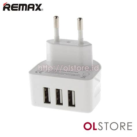 Remax Travel Charger Crescent Moon Rp U31 3 Port Usb 3 1a jual charger fast charing jual charger 2 1a remax