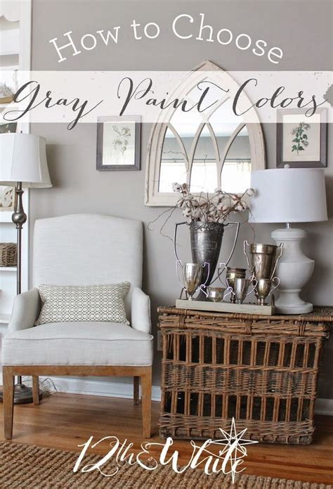 how to choose white paint how to choose gray paint colors 12th and white gray