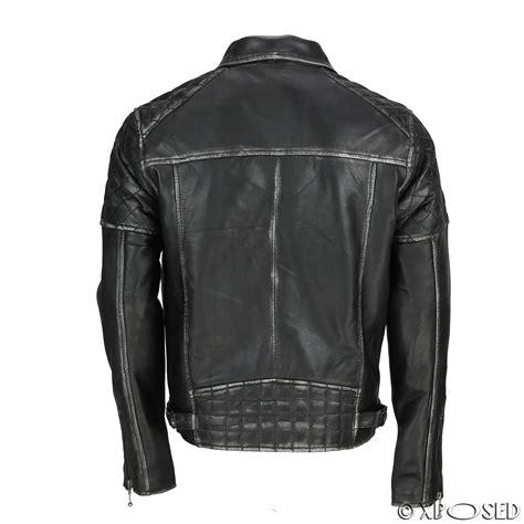 mens tan motorcycle mens real leather biker jacket motorcycle vintage antique