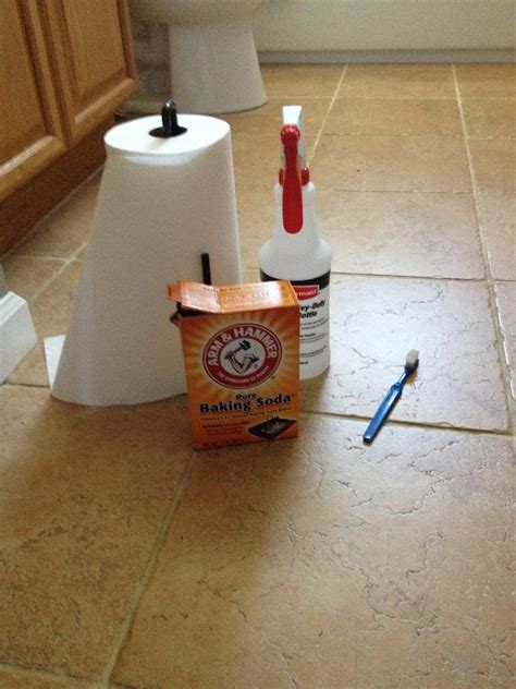 Cleaning Grout With Vinegar The Everyday Cinderella Miracle Grout Cleaner