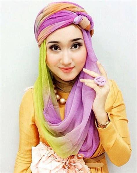 tutorial hijab kerudung paris ala dian pelangi tutorial hijab paris segi empat terbaru ala dian pelangi