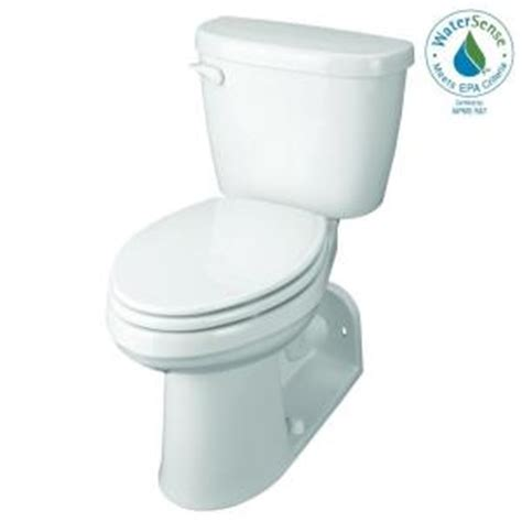Gerber Comfort Height Toilet by Gerber Maxwell 2 Compact Elongated Toilet In White
