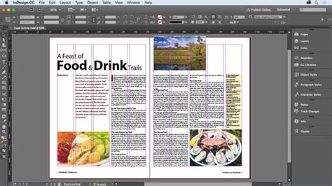 layout adobe indesign the difference between photoshop indesign indesign courses