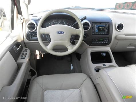 Ford Expedition 2004 Interior by 2004 Ford Expedition Eddie Bauer 4x4 Medium Parchment Dashboard Photo 70035930 Gtcarlot