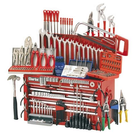 Clarke CHT634 Mechanics Tool Chest and Tools Package » Product