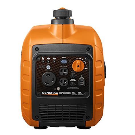 generac gpi super quiet inverter generator  starting watts  powerrush technology
