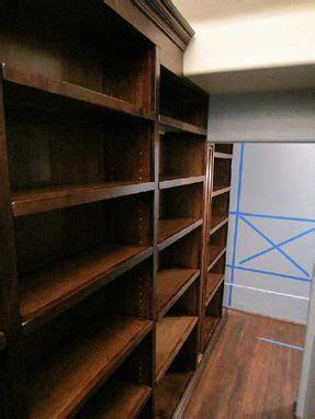 handmade custom walk  butler pantry shelving units