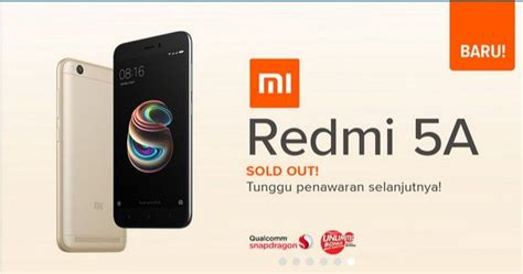 Indosat Ooredoo 18gb 1 Tahun by Tak Kebagian Flash Sale Xiaomi Redmi 5a Harganya Melonjak